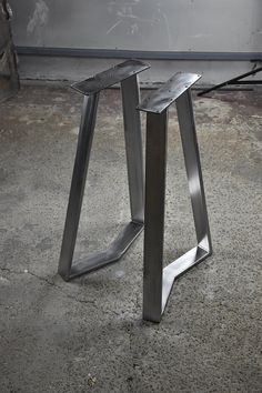 Furniture Legs, Living Furniture, Metal Furniture, Interior Design Living Room, Steel Table Legs, Dining Table Legs, Wrought Iron Table Legs, Concrete Table, Live Edge Table