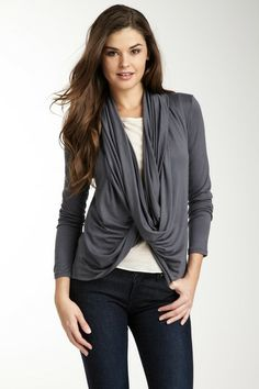 Loveappella Open Front Cardigan by Non Specific on @HauteLook  project