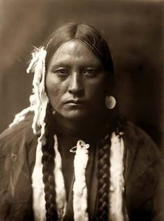 Kootenai woman - 1910 — with Larry Cooper.