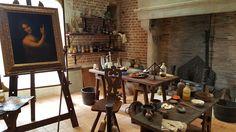 Léonard de Vinci - Atelier au Clos Lucé