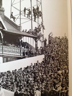 Craven Cottage. Fulham v Chelsea. I hated these games. I lived half a mile from Craven Cottage, but supported the Blues...mixed emotions to this day.