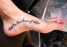 tatuaje frase pie - Buscar con Google