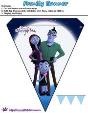 When Vampirina moves from Transylvania to Pennsylvania with her parents, this little vampire must find ways to adapt to human life, which isn't easy. Even the night time sleeping is a complic… Disney Junior Birthday, Baby Girl Birthday, Casa Halloween, Halloween Kids, Party Kit, Diy Party, Party Ideas, Vampire Party, 6th Birthday Parties