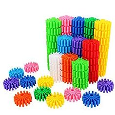 SHAWE Kids Toy, Coglets 80 Pieces Gear Interlocking Building Various Colors,Learning Color Cognition,Make Wonderful World,Run Wild Imagination ** Details can be found by clicking on the image. (This is an affiliate link) Learning Colors, Learning Toys, Best Toddler Toys, Math Stem, Preschool Gifts, Math Activities, Steam Activities, Toddler Activities, Gifts For Boys