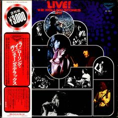 For Sale - Rolling Stones Live! / The Rolling Stones Deluxe Japan  2-LP vinyl record set (Double Album) - See this and 250,000 other rare & vintage vinyl records, singles, LPs & CDs at http://eil.com