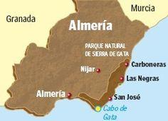 Mapa Cabo de Gata 2