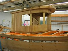 Shanty Boat, Wood Boats, Yacht Boat, Tug Boats, River House, Boat Building, Outdoor Furniture, Outdoor Decor, Nautical