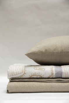 DESIGNER:  Anki Spets  MATERIALS:  100% Cotton  MEASUREMENTS:  Full/Queen Coverlet: 90 x 90 inch King Coverlet: 108 x 90 inch