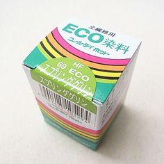 コールダイホット col.69 スプリンググリン みや古染 ECO染料
