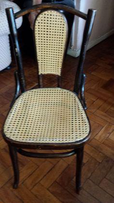 Antiga Cadeira De Palhinha - R$ 160,00 no MercadoLivre