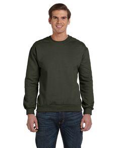 ANVIL 71000 Adult Combed Ringspun Fleece Crewneck Sweatshirt