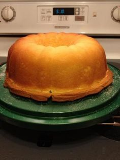 Southern Living's Cream Cheese Pound Cake - Holy smokes...super delicious. ****