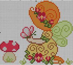 σχέδια με κοριτσάκια για σταυροβελονιά cross stitch patterns of little girls http://pontocruzdapri.blogspot.gr/ ...