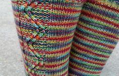 Ravelry: Zigzagular Socks pattern by Susie White