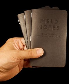 The GOLD standard, by far my favorite field notes edition.