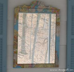 Map Mirror - Lovely Etc.