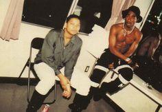 Queen Latifah and Tupac