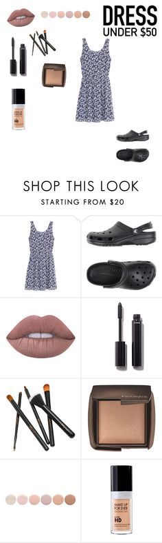 """""""Sin título #97"""" by rmsets ❤ liked on Polyvore featuring H&M, Crocs, Lime Crime, Chanel, Hourglass Cosmetics, Deborah Lippmann and MAKE UP FOR EVER"""