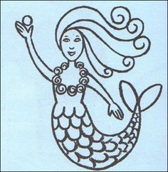 How To Draw A Mermaid Drawing Lesson Painting Pinterest Fairy