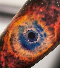 Helix nebula tattoo