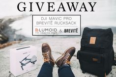Enter to win the adventure package of a lifetime! Lumoid and Brevitē have teamed up to give away a brand new DJI MAVIC PRO and Brevitē Rucksack! We want you to get out there. Lumoid and Brevite are both united by this goal. One lucky winner will receive a Brevite Rucksack and a DJI Mavic Pro! We are so excited to help you do what you love. Keep going. You've got all of us inspired.