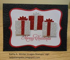 Merry Christmas card by Kathy Winter