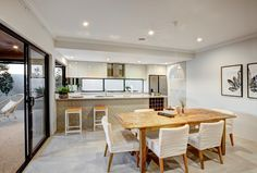 Albedor Organic Decorative Panel featured in this Impressions (Byford) Display Home kitchen. Design by the talented Jane Fyfe of 4 Rooms. Roller Doors, Built In Furniture, Display Homes, Decorative Panels, Panel Doors, Home Kitchens, Kitchen Design, Rooms, Organic