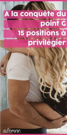 Ce mystérieux point G... Un endroit du corps féminin extrêmement érogène. Comment le stimuler pour atteindre l'orgasme pendant l'amour ? Quelles sont les positions qui favorisent le plaisir ? On vous en dit plus... /// #aufeminin #pointG #plaisir #erogene #fairelamour #position #sensuel Love Positions, Sex Quotes, New Start, Relationships Love, Le Point, Massage, Erotic, Coaching, Positivity