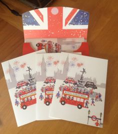 London Christmas card