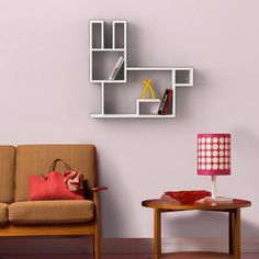 Rabbit Shelf... Rabbit shaped wall shelf... www.modernfurnituredeals.co.uk