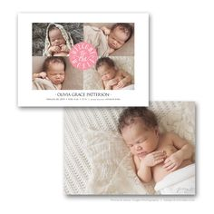 35 best birth announcement templates images on pinterest birth