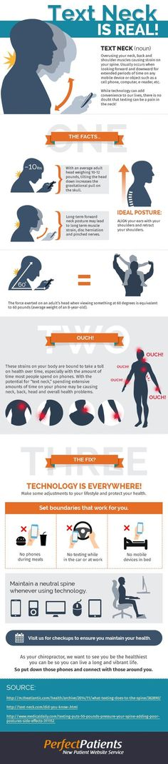Find out the reason behind sitting, standing, sleeping or even texting right with these 10 amazing infographics!