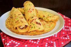 Clătite de cartofi cu brânză și dovlecel - Rețete Merișor Crepes, Waffles, Pancakes, Guacamole, Mexican, Cooking, Ethnic Recipes, Food, Kitchen