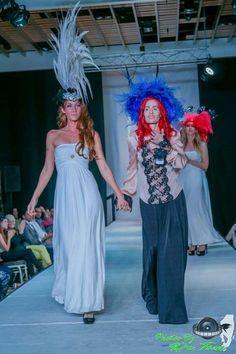 Www.DesignsByRebecca.com  FASHION WEEK   Rebecca Bergmann   Hat Designer / Milliner