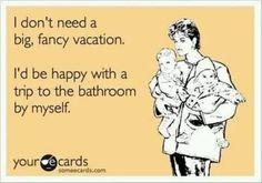 single mom vacation