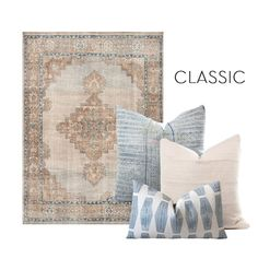 New Pillow   Rug Combinations for SpringBECKI OWENS