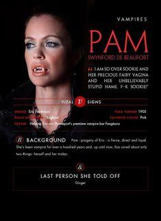 My favorite Vamp - Pam from True Blood Pam True Blood, Serie True Blood, Hbo Tv Shows, Kristin Bauer, Career Help, Favorite Tv Shows, My Favorite Things, Eric Northman, Hbo Series