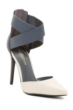 Enzo Angiolini Flio Crisscross Pump, Grey, by Enzo Angiolini Dream Shoes, Crazy Shoes, Me Too Shoes, Shoe Boots, Shoes Heels, Shoes World, Only Shoes, Sneaker Heels, Shoe Closet