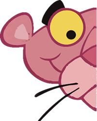 Life is pink! My favorite cartoon of all time! The Pink Panther was SO cool! Cartoon Tv, Vintage Cartoon, Cartoon Characters, Panther, Desenhos Hanna Barbera, Panthères Roses, Pink Panter, Wall Drawing, Everything Pink
