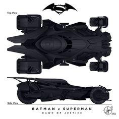 New Batmobil - Batman vs. Superman - UPDATE by Paul-Muad-Dib on DeviantArt