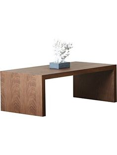 Abbyson Living Quincy Coffee Table, Medium, Walnut ❤ Abbyson Living