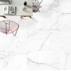 Stylish lounge floor featuring matt finish Arabescato marble effect large antibacterial porcelain floor tiles Large Floor Tiles, Tile Floor, Arabescato Marble, Porcelain Floor, Marble Effect, Wall Tiles, Dining Room, Lounge, Flooring