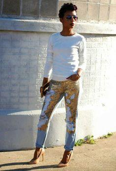 Амбер эванс в джинсах фото 404-841