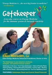 Acclaimed teacher Ellen Meredith, DA, offers simple and effective new tools and a creative paradigm for using Energy Medicine to address reactivity, heal the immune system, and improve overall well-being. This Gatekeeper and Cosmic Reset material promotes profound shifts for clients and practitioners alike!