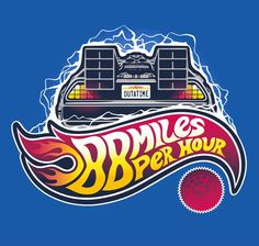 """""""Hot Wheels to the Future"""" by victorsbeard """"When this baby hits 88 miles per hour…"""" The Future Movie, Back To The Future, Doc Brown, Bttf, Cultura Pop, Pop Culture, T Shirt, Automobile, Tees"""