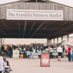The Franklin Farmers Market at the Factory in Franklin, Tennessee takes place every Saturday morning and offers a variety of fruits, veggies, meats and more, all grown and made right here in Tennessee. Vacation Places, Dream Vacations, Vacation Spots, Places To Travel, Places To See, Franklin Tennessee, Nashville Tennessee, Tennessee Girls, East Tennessee
