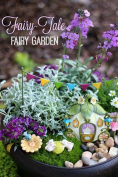 Fairy-Tale Fairy Garden How To