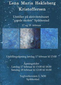 Utstilling med Lena Maria Hekleberg Kristoffersen