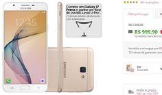 Samsung Galaxy J7 Prime 4G Dourado Dual Chip 32GB Câmera 13MP Tela 5.5 << R$ 99990 >>