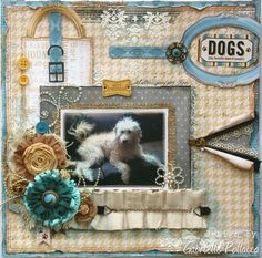 Dogs ~ Happy Tails **NEW Bo Bunny** - Scrapbook.com